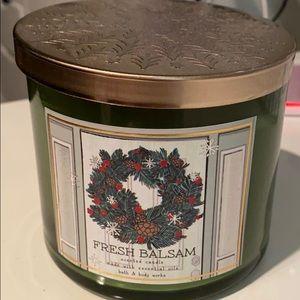 Bath & Body Works candle - Fresh Balsam